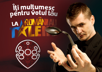 Votez Cristian Gog la romanii au talent!