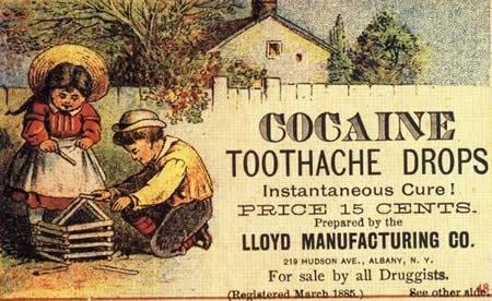 picaturi cu cocaina pentru dureri de dinti