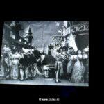 Proiectie film Barba Albastra (1901) – pentru prima data in cinematografie a fost introdusa o reclama – sampania Mercier