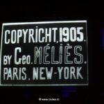 Proiectie film cu copyright Melies